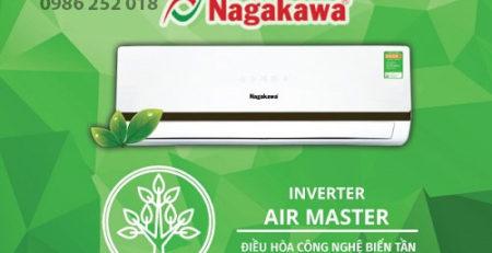 lắp đặt điều hòa Nagakawa công nghệ Inverter
