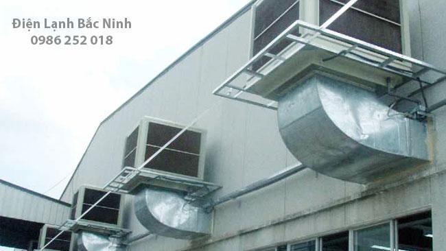 lắp đặt điều hòa công nghiệp cho các nhà xưởng