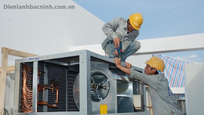 lắp đặt điều hòa công nghiệp chuyên nghiệp