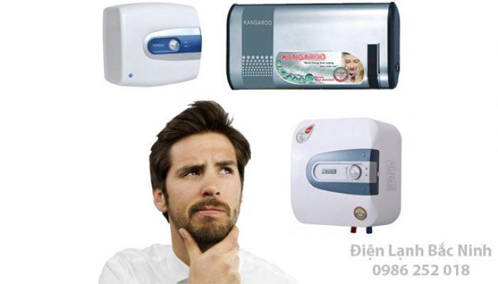 lựa chọn lắp đặt bình nóng lạnh cho gia đình