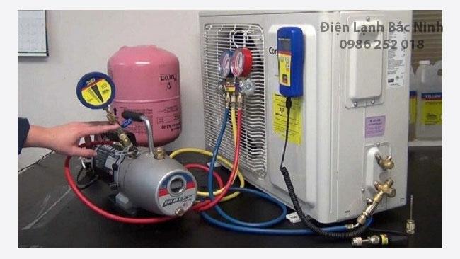 nạp gas điều hòa cần lưu ý những gì