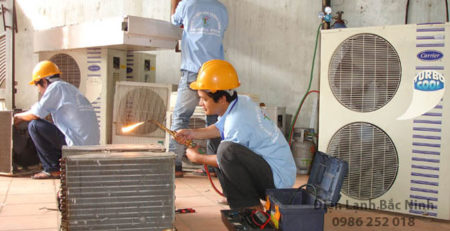 sửa chữa điều hòa tại Bắc Ninh