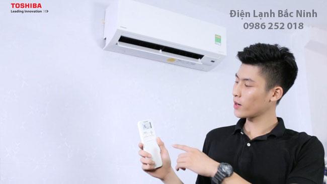 sử dụng điều hòa không khí toshiba