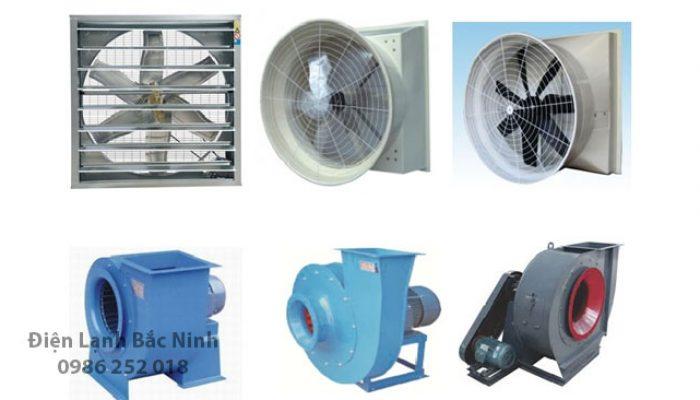 So sánh 2 loại hệ thống quạt thông gió: Quạt ly tâm và quạt hướng trục